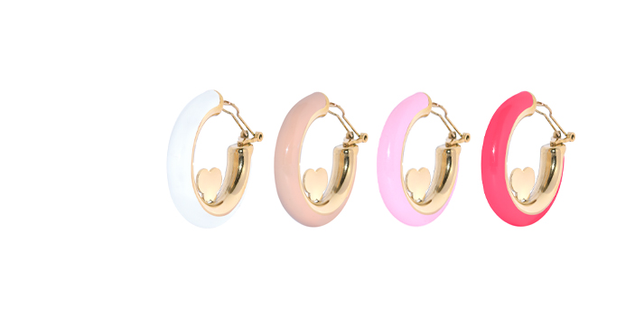 Juli Enamel Earrings